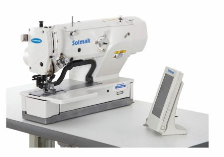 HIGH-SPEED DIRECT-DRIVE COMPUTER-CONTROLLEDLOCKSTITCH BUTTONHOLING SEWING MACHINE SM-1790