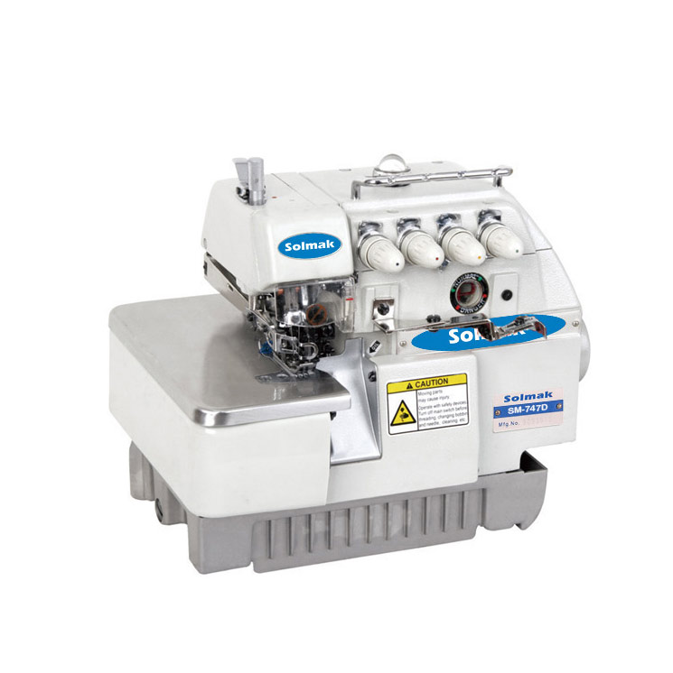 SUPER HIGH SPEED DIRECTDRIVE OVERL OCK SEWINGMACHINE SM-747D