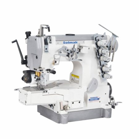 CYLINDER-BED INTERLOCK SEWING MACHINE WITHREAR PULLER SM-600-CB/RP