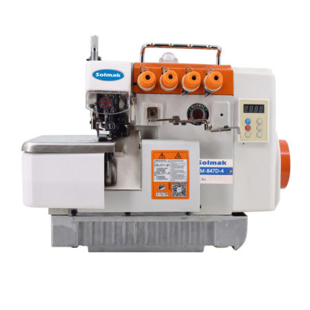 DIRECT DRIVE INTEGRATED OVERLOCK SEWING MACHINE SM-847D