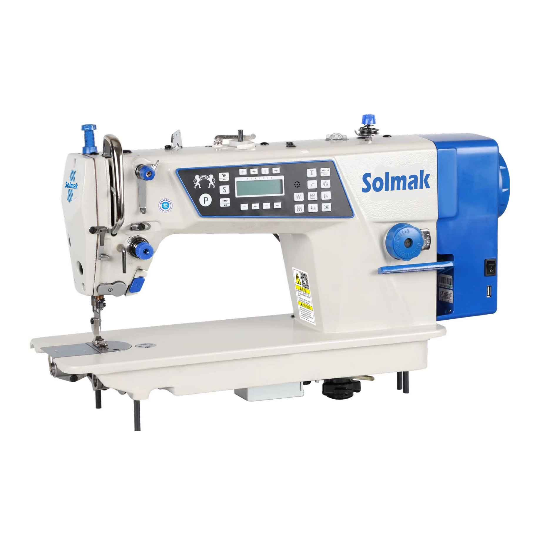 HIGH SPEED COMPUTERISED LOCKSTITCH SEWING MACHINE SM-Q8S-3