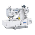 FLATBED INTERLOCK SEWING MACHINE WITH TOP AND BOTTOM THREAD TRIMMER SM-500-01/AT/EUT