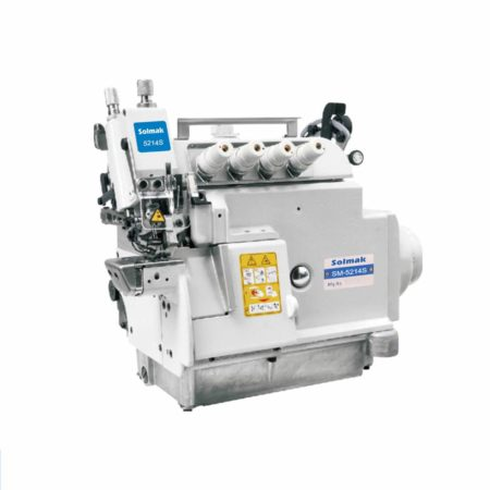 ULTRA HIGH SPEED UPPER AND BOTTOM COMPOUND FEED OVERLOCK SEWING MACHINE SM-EXT5214S