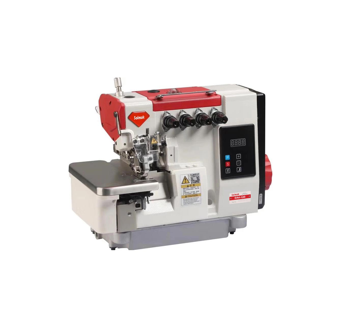 SUPER HIGH SPEED OVERLOCK SEWING MACHINE SM-985-4AT
