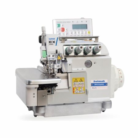 FULL AUTOMATIC HIGH-SPEED OVERLOCK SEWING MACHINE WITH VARIABLE TOP FEED SM-EX5200D