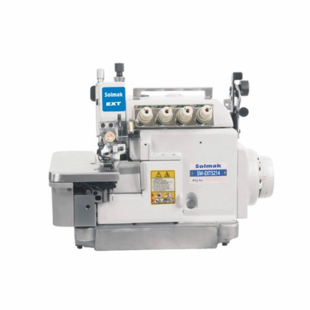 ULTRA HIGH SPEED UPPER AND BOTTOM COMPOUND FEED OVERLOCK SEWING MACHINE SM-EXT5214