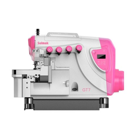 DIRECT-DRIVE AUTOMATIC THREAD-CUTTING HIGH SPEED OVERLOCK SEWING MACHINE SM-GT7