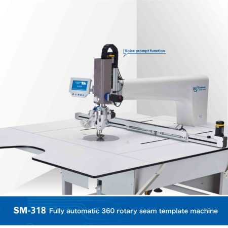 Fully automatic 360 rotary seam template machine SM-318