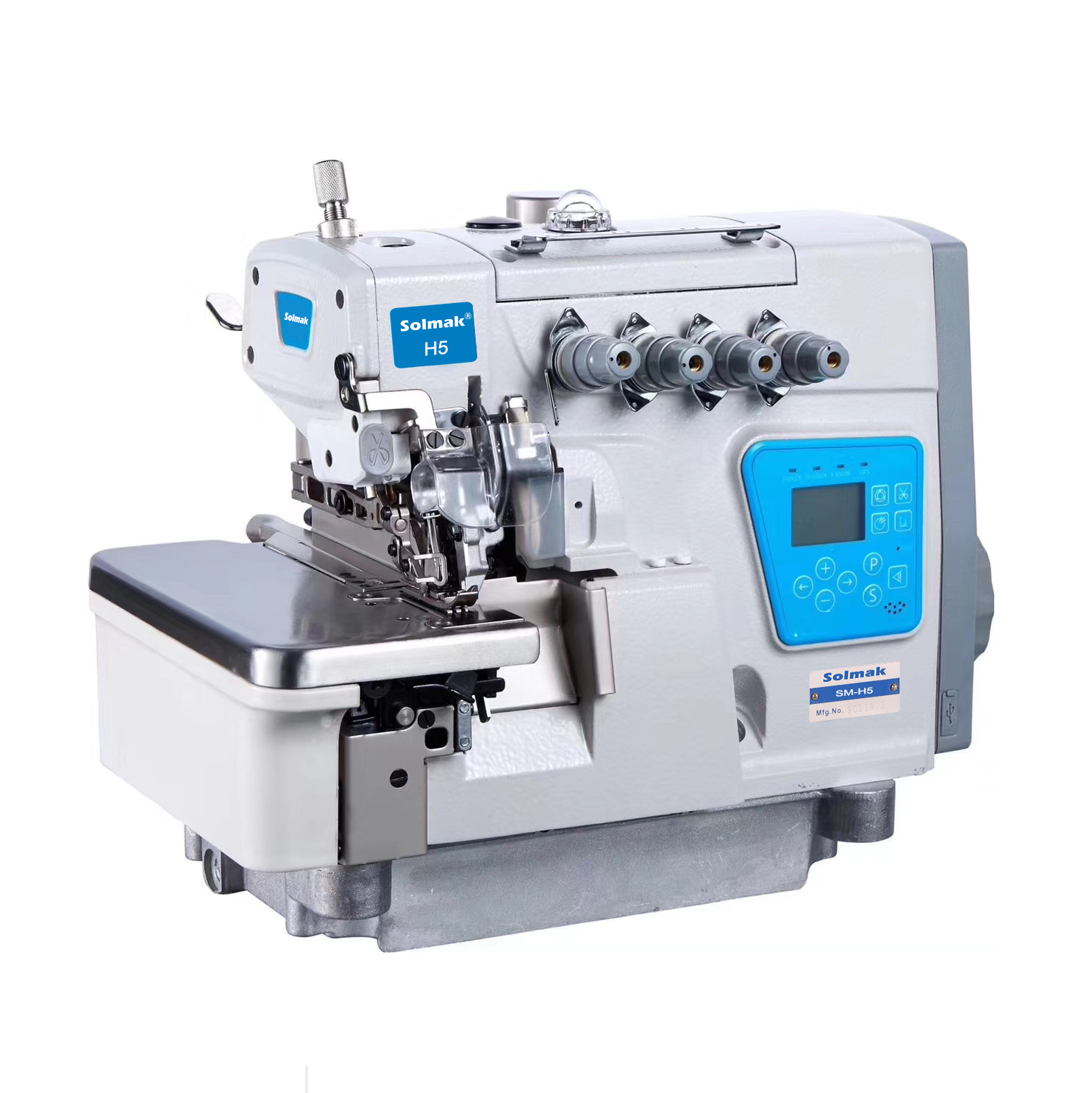 SUPER HIGH SPEED OVERLOCK SEWING MACHINE SM-H5-4-EUT