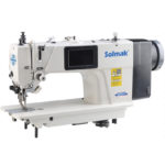 Computerized lockstitch sewing machine with special stitches & single step motor  SM-0388-D3