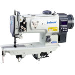 Double needle compound feed lockstitch sewing machine  SM-1560D
